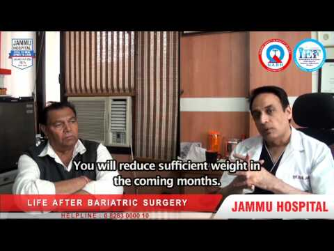 Dubai Construction Business Owner undergone MGB Surgery in India from Jammu Hospital Jalandhar