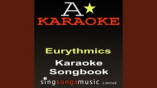 I Saved The World Today (Originally Performed By The Eurythmics) (Karaoke Audio Version)