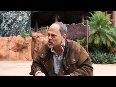 Zoey interviews Disney Imagineer Joe Rohde