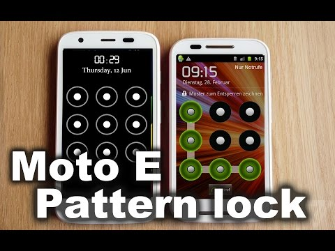 How to MOTO E Hard reset - moto e Pattern lock remove  and Factory reset of  Moto E 1st and 2nd gen
