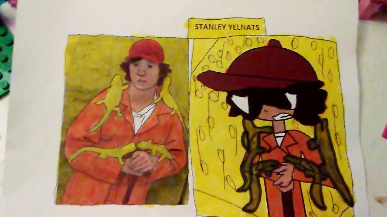 stanley yelnats the 4th my favorite caricature youtube