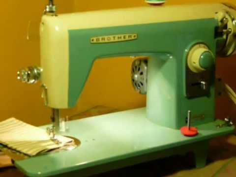 NIFTYTHRIFTYGIRL Retro Turquoise Brother Straight Stitch Class 40 Gorgeous Brother Ja 28 Sewing Machine Manual