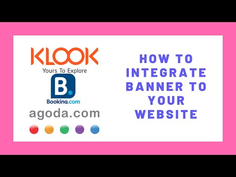 How To Integrate Agoda, Booking And Klook On Your Website