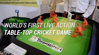 World's First Live Action Table-Top Cricket Game | Digit.in screenshot 3
