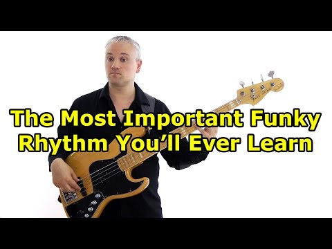 The Most Important Funky Rhythm You'll Ever Learn