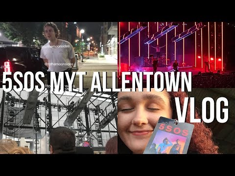 5SOS MEET YOU THERE TOUR ALLENTOWN VLOG | soundcheck + meeting them