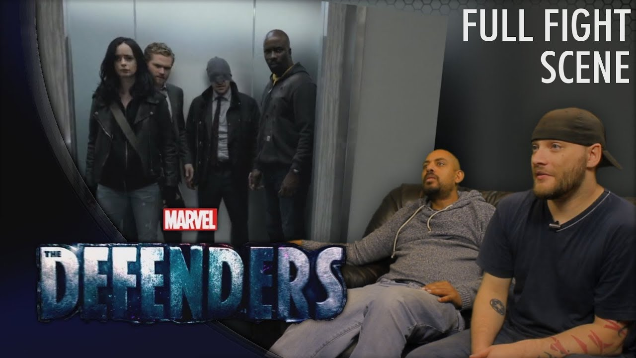 Download Marvel's The Defenders s01e03 'FULL FIGHT SCENE' REACTION
