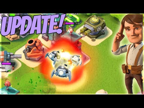 Boom Beach NEW Update is Here! Bug Fixes plus New Gunboat Ability!!