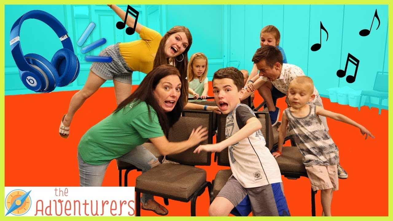Extreme Musical Chairs First To Sit Wins That Youtub3 Family Youtube
