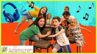 Extreme Musical Chairs - First To Sit Wins / That YouTub3 Family Video