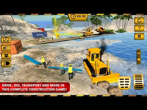 River Road Bridge Construction Android Gameplay - 동영상