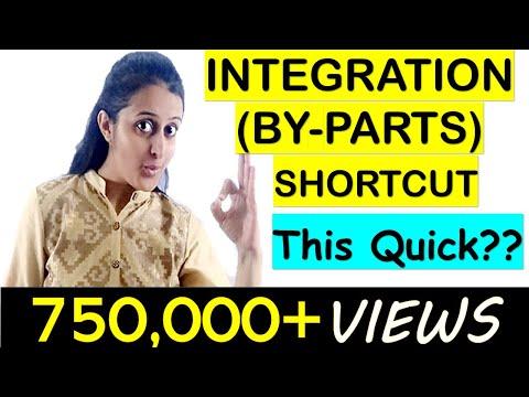 INTEGRATION SHORTCUTS- BY PARTS-TRICK || JEE/EAMCET/NDA TRICKS thumbnail