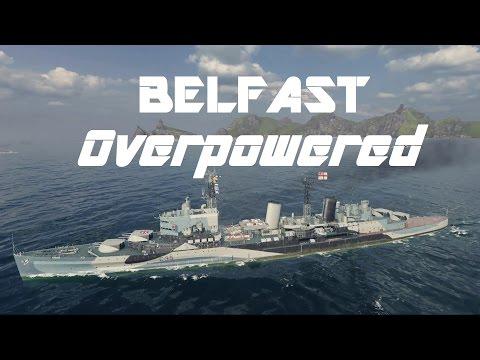 T7 RN Premium Cruiser Belfast: Overpowered.