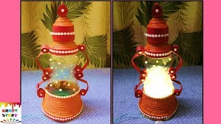 Plastic bottle craft idea |best out of waste | Newspaper craft idea