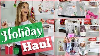HOLIDAY HAUL | Fitness, Beauty, Clothes & More!
