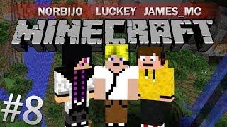 Minecraft Survival! - 8. rész - w/ James_mc & Norbijo