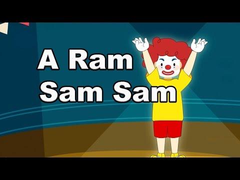 A Ram Sam Sam  Cantece pentru copii  CanteceleCopiiro