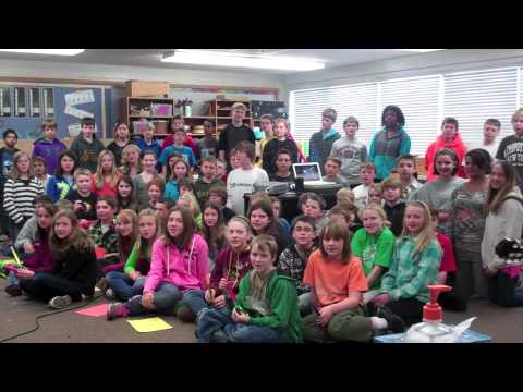 Zach Sobiech Clouds (Cover) by Afton-Lakeland Elementary 6th Grade Students