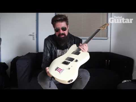 Me And My Guitar: Slipknot and Stone Sour's Jim Root with his Fender Jazzmaster