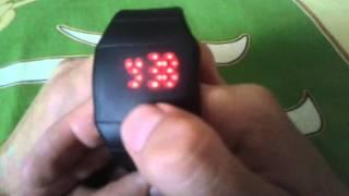 Як налаштувати дешеві гумові годинник / алиэкспресс