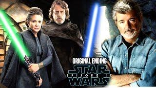Star Wars Episode 9 Original Ending By George Lucas Revealed! (Luke & Leia)