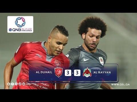 Duhail 3 - 3 Al Rayyan Goals | week 14