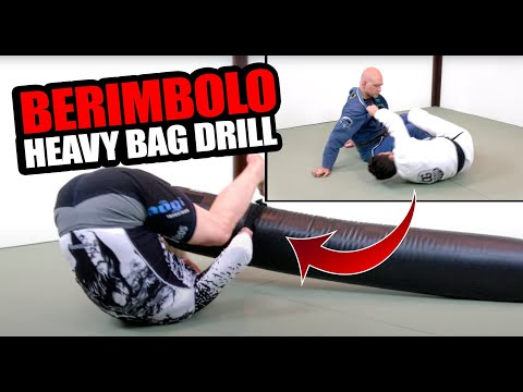 How to Drill the Berimbolo Entry Alone with a Heavy Bag