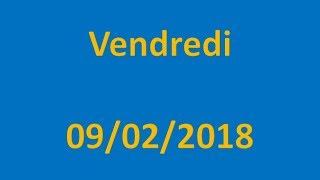 RESULTATS EURO MILLIONS DU 09/02/2018 !