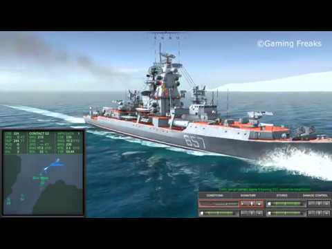 COLD WATERS: Sierra Class Submarine and Kresta II Class Cruiser SUNK
