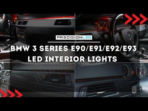 BMW 3 Series  E90/E91/E92/E93 LED Interior Lights - How to Install  - 5th Generation  2006-2011