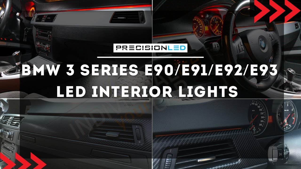 bmw 3 series e90 e91 e92 e93 led interior lights how to install 5th generation 2006 2011 youtube [ 1280 x 720 Pixel ]