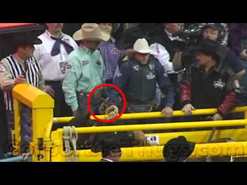 2013 NFR Catches Itself Shocking Horses Again!!!