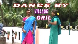 dance by village girl from andhra folk