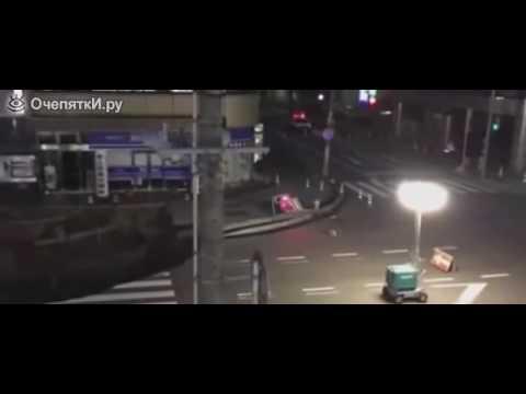 Смотреть . Масштабный провал в Японии дороги! Видео