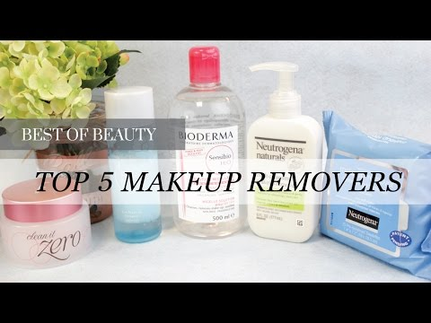 Top 5 Best Makeup Removers | LookMazing