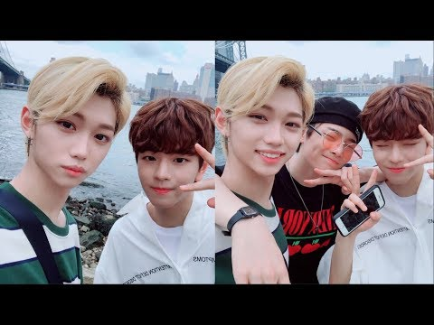 Stray Kids speaking English : NYC edition 馃嚭馃嚫
