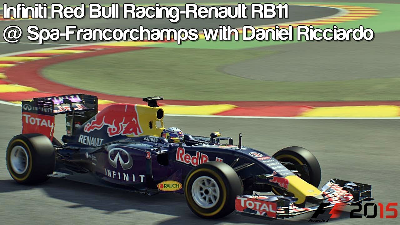 Red Bull Rb11 F1 2015 Infiniti Red Bull Racing Renault Rb11 Spa Francorchamps With Daniel Ricciardo Hd