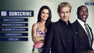 UNDISPUTED Audio Podcast (1.9.17) with Skip Bayless, Shannon Sharpe, Joy Taylor | UNDISPUTED