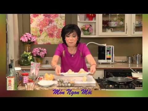 Uyen Thy's Cooking - Bò Bía Ngọt & Bánh Tráng Nướng