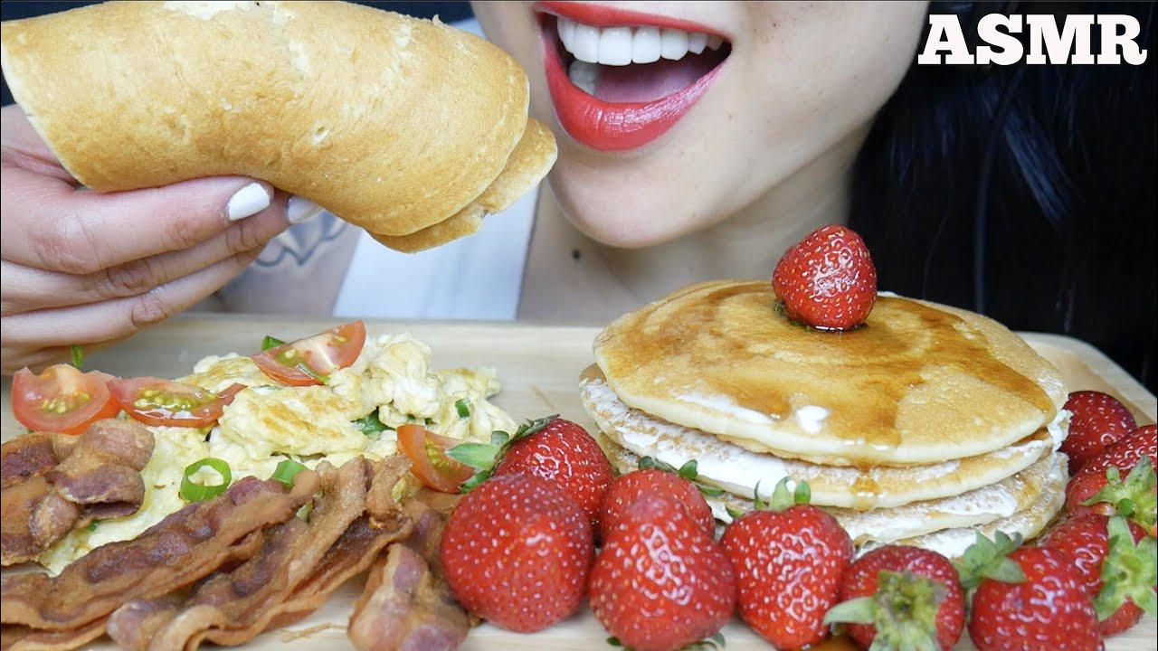 Asmr Strawberry Pancake Eggs Bacon Breakfast Platter Eating Sounds No Talking Sas Asmr Youtube Created 4 years ago 8,770,000 2,138,856,114 1,191 canadian. asmr strawberry pancake eggs bacon breakfast platter eating sounds no talking sas asmr