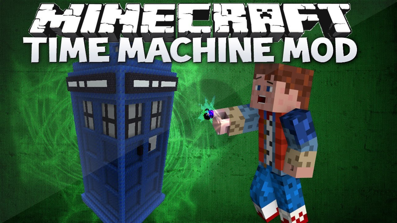 Minecraft Time Machine Mod