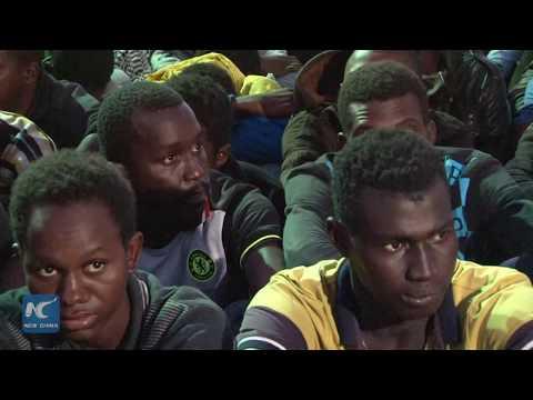 Libyan navy rescues 200 migrants off Libyan coast