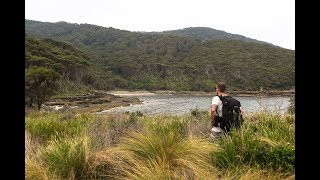 Overnight Wild Camp At Secluded Australian Cove