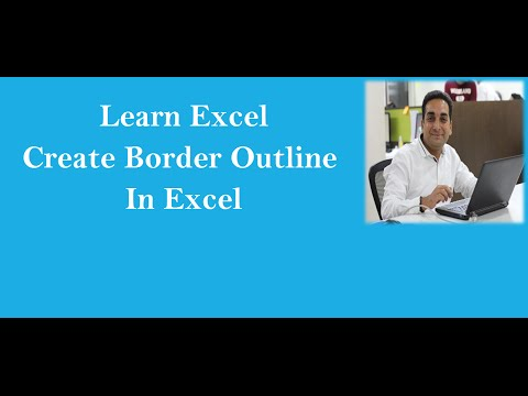 MS Excel : Draw Borders In Excel