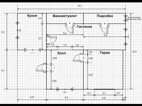 видео: Видео о строительстве дома своими руками (Выпуск 1)