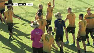 2018 WU24UC - Australia vs Germany Mens Bronze Medal Match Day 6 - Reupload