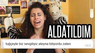 SEVGİLİME AYRILMA ŞAKASI (AYRILDIK) - ALDATILDIĞIMI ÖĞRENDİM