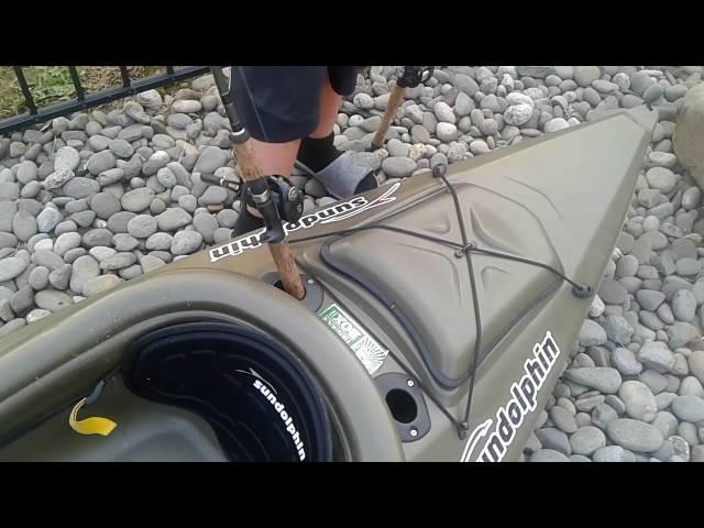Sun dolphin excursion 10 fishing kayak