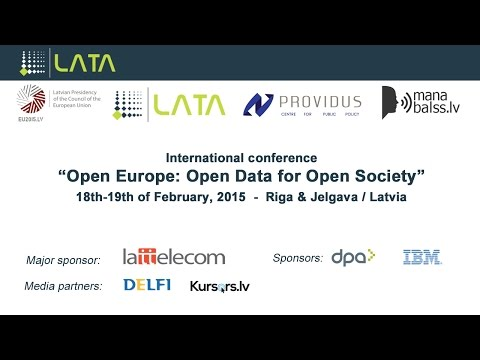 Open Europe: Open Data for Open Society - Day II - Session II