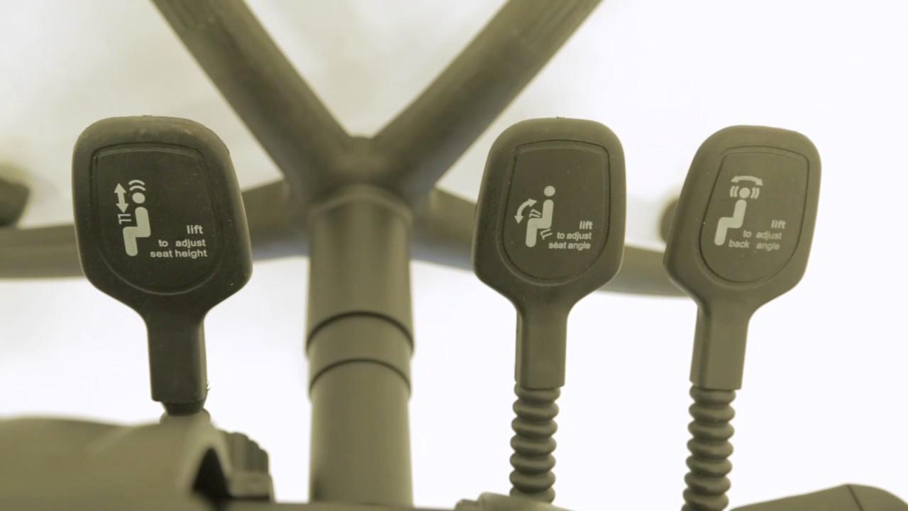 Energi 24 Back Care Posture Operators Chair